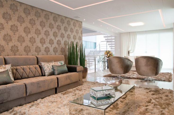 Construindo Minha Casa Clean: Consultoria de Decoração de Interiores - Sala de Estar e Quarto Clássico Moderno!