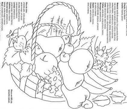 Desenhos Lindos de Frutas e Flores   DESEN   Pinterest   Embroidery ...