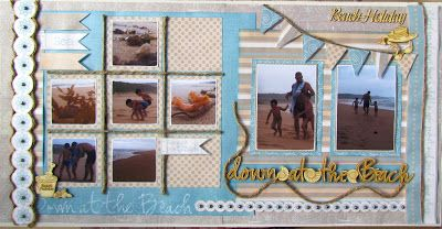 Scrap Collections Design Team: DOWN AT THE BEACH - Class Note