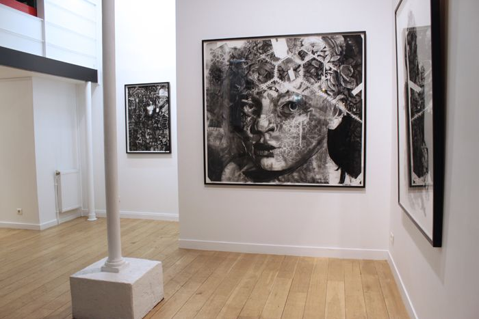 FERAL - Emma Vidal solo exhibition at the @oneirogallery  Paris