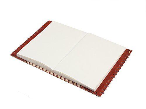 Cadeaux de noel, cuir rouge fait main Journal blanc Journal personnel composition carnet de voyage carnet de croquis de livre 12 x 18 Non…
