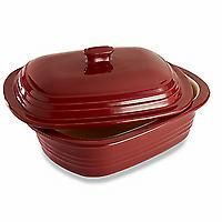 Deep Covered Baker - Cranberry | Buy Quality Kitchenware at PamperedChef.com