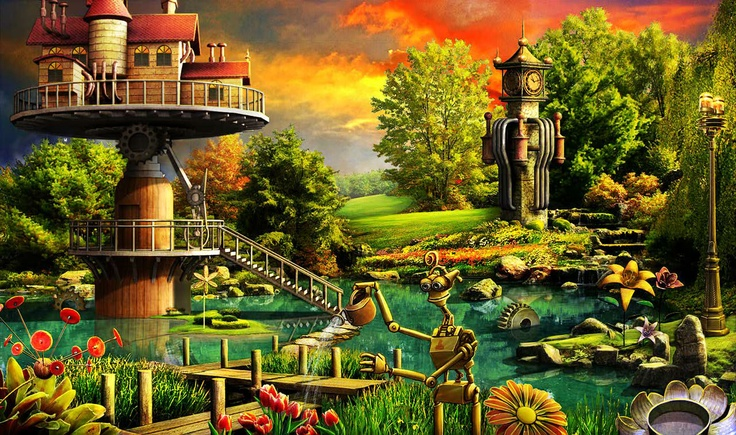 36 best Gardens of Time images on Pinterest | Fantasy, Imagination ...