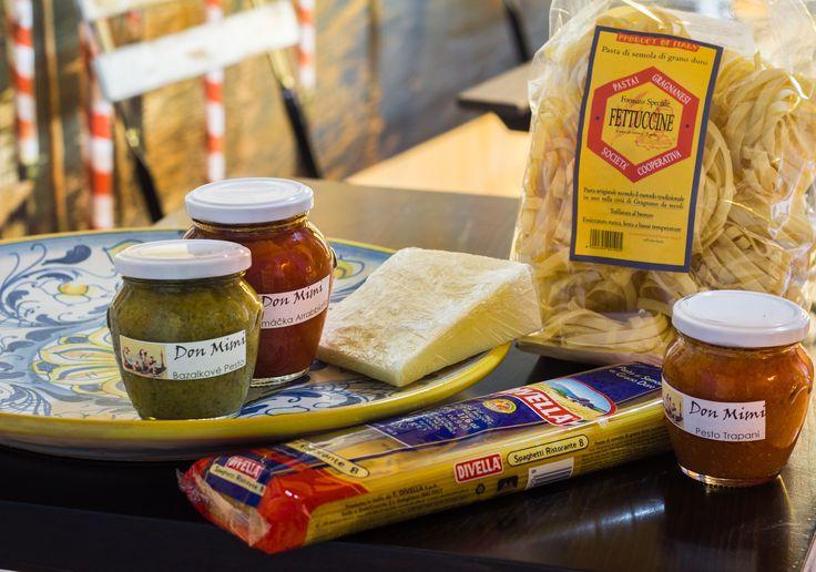 Italské potraviny - http://foodspace.cz/brand/don-mimi/