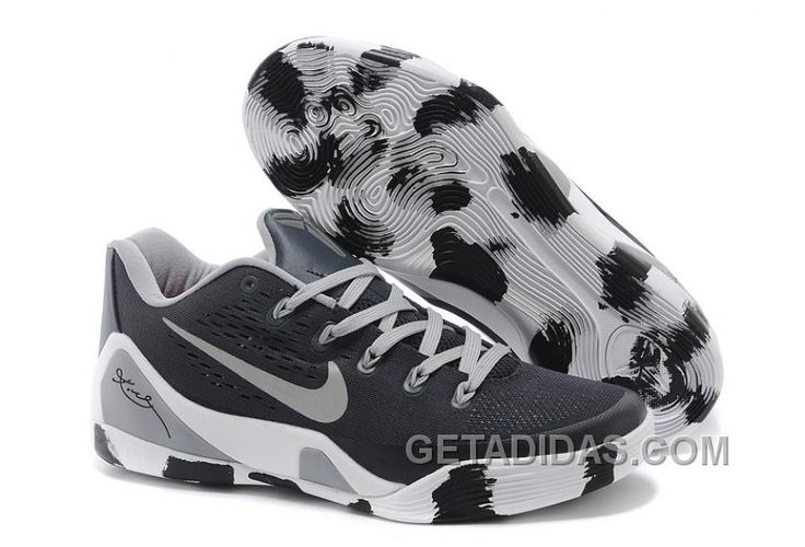 http://www.getadidas.com/nike-kobe-9-low-em-black-white-grey-for-sale-super-deals.html NIKE KOBE 9 LOW EM BLACK WHITE GREY FOR SALE SUPER DEALS Only $93.00 , Free Shipping!