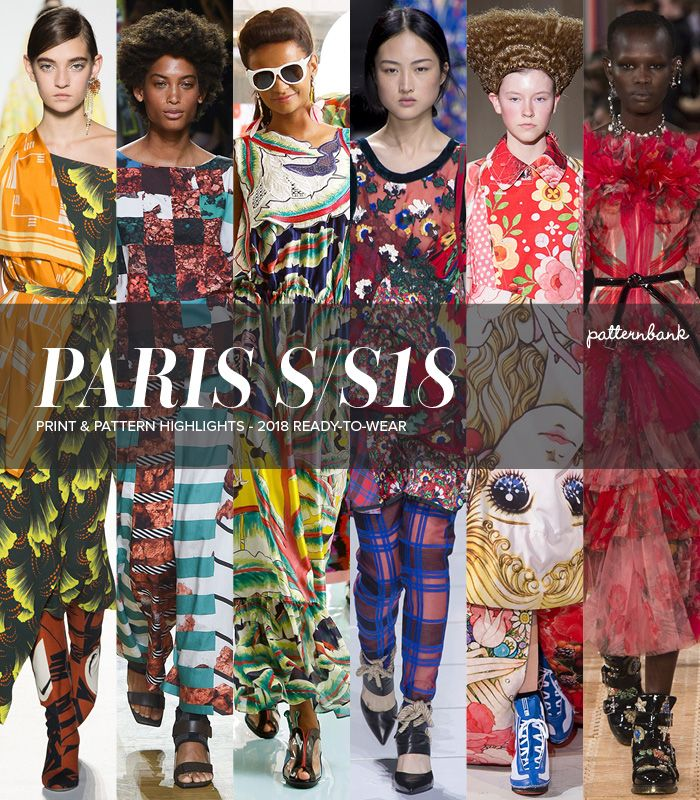 Paris Catwalk Print & Pattern Highlights – Spring/Summer 2018 Ready-to-Wear