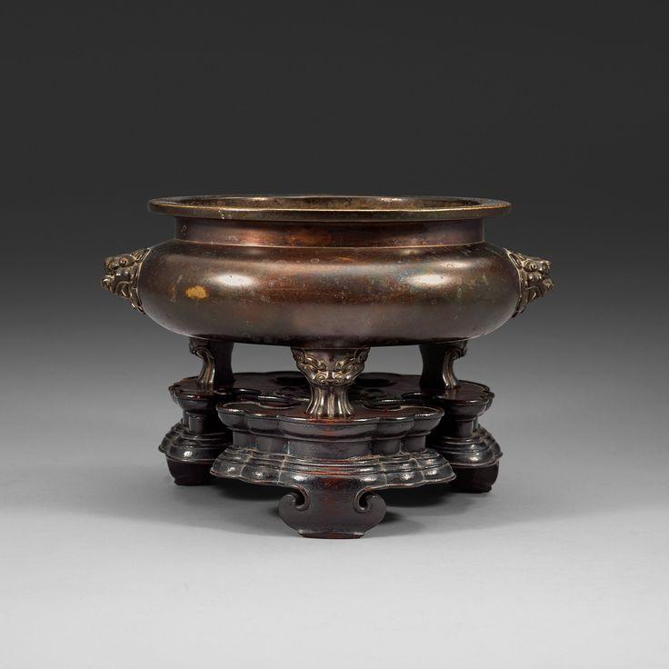 Bronze Tripod Censer Ming Dynasty