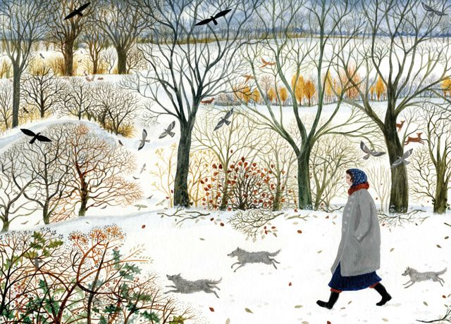 'Freedom' By Painter Dee Nickerson. Blank Art Cards By Green Pebble. www.greenpebble.co.uk