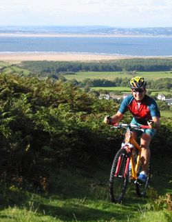 Mountain Biking on Gower