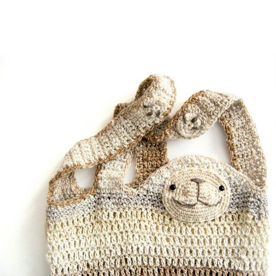 Cedric The Sloth  Crochet Shopper Pattern - out now!