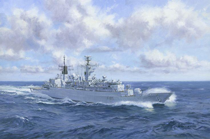 HMS Cumberland (F85).