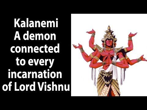 Kalanemi - A demon connected to every incarnation of Lord Vishnu - YouTube