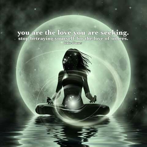 The love you are looking for is, inside of you, waiting to be shared with the right someone when the time is right!