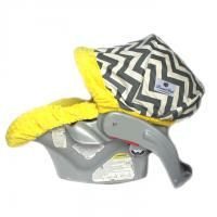 Car Seat Cover - Modern Mode Baby Carseat Cover (Available in other minky colors) on Etsy, $69.00