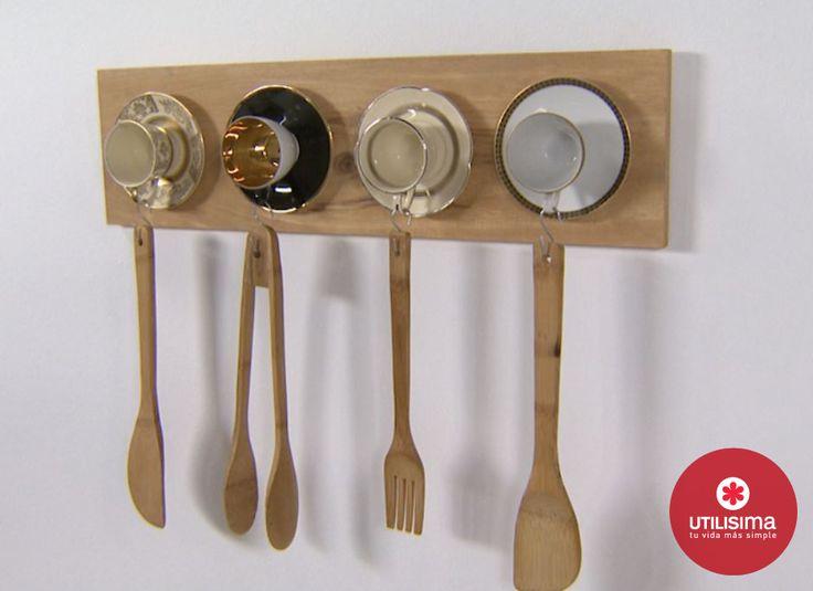 Organizador de cocina / reciclado vía @Canal Utilísima | Things To