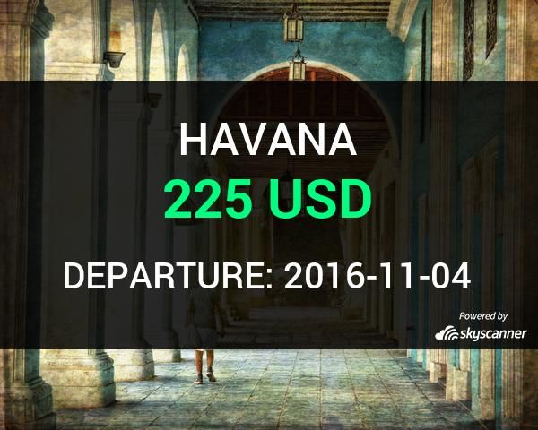 Flight from Houston to Havana by Aeromexico #travel #ticket #flight #deals   BOOK NOW >>>