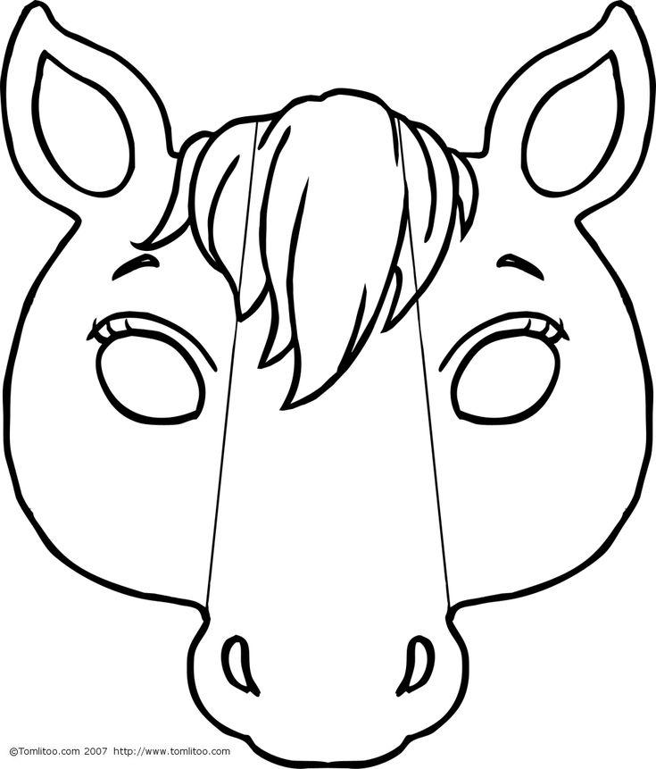 masque a imprimer animaux - Recherche Google