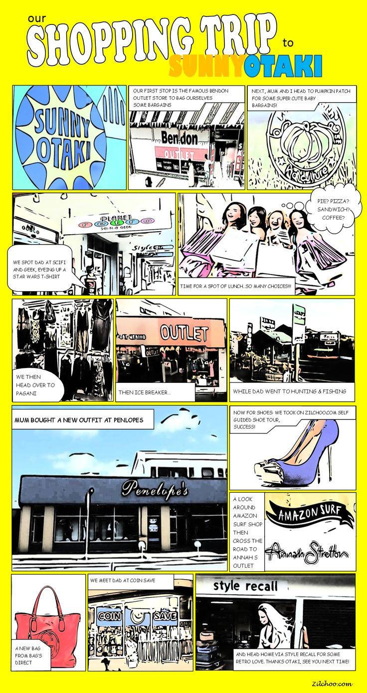 My shopping trip to Sunny Otaki