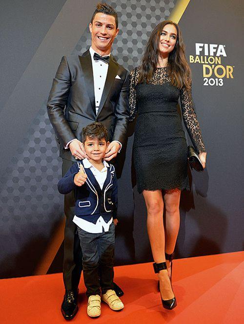 Cristiano Ronaldo, Jr & Irina