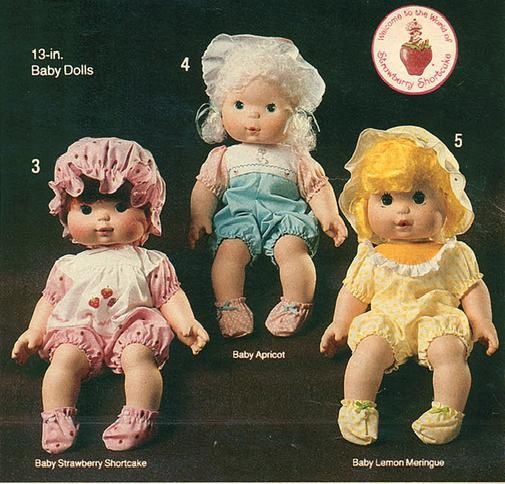 baby strawberry shortcake dolls They blew scented kisses. Always wanted one.