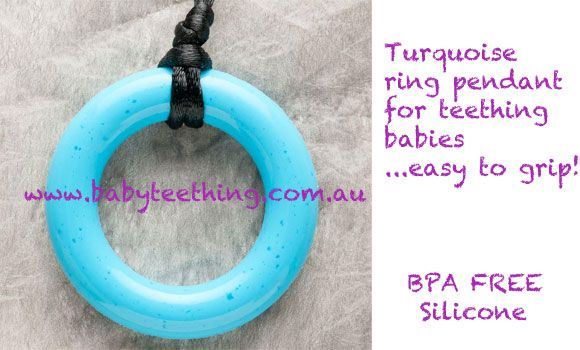 Ring Teething Bling pendants now available
