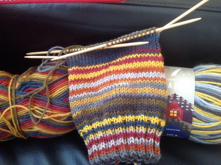 Räsymattosukat | Novita knits