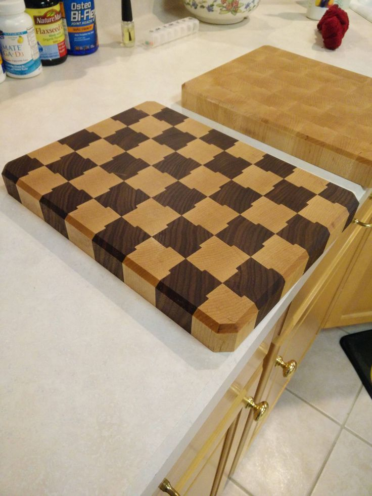 how to plane end grain cutting board