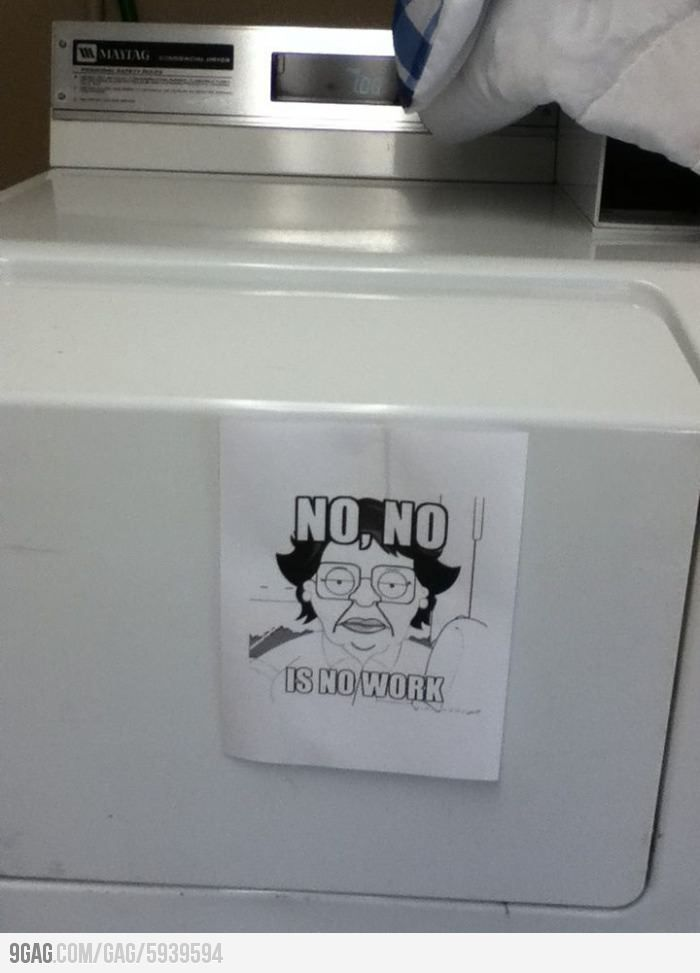 Found this note in the apartments laundry room!