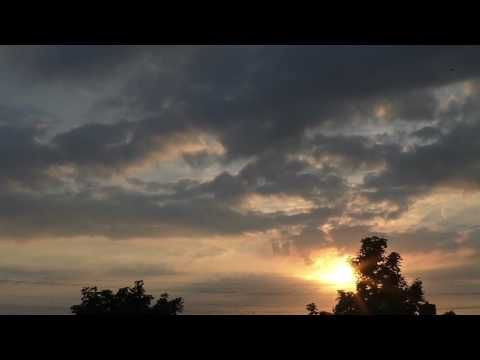 Beautiful sunset in the Netherlands - YouTube