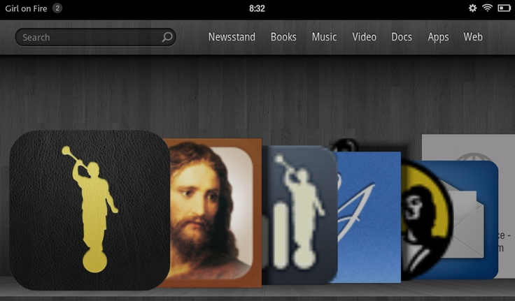 How to get LDS Apps onto the Kindle Fire