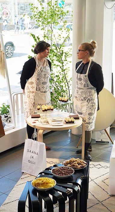 Saana ja Olli & Bedesign pop-up opening 2014 / Gaggui Kaffela