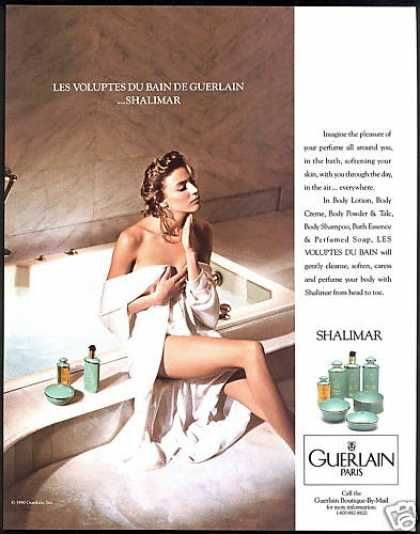 Guerlain Shalimar Les Voluptes Du Rain (1990)