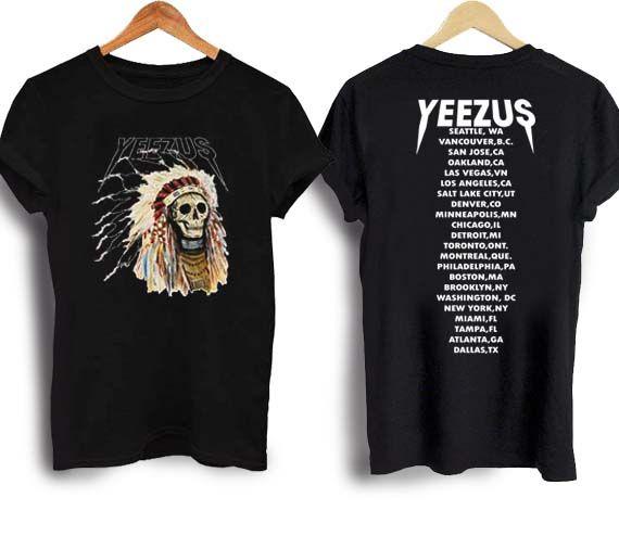 Kanye west yeezus T Shirt Size S,M,L,XL,2XL,3XL