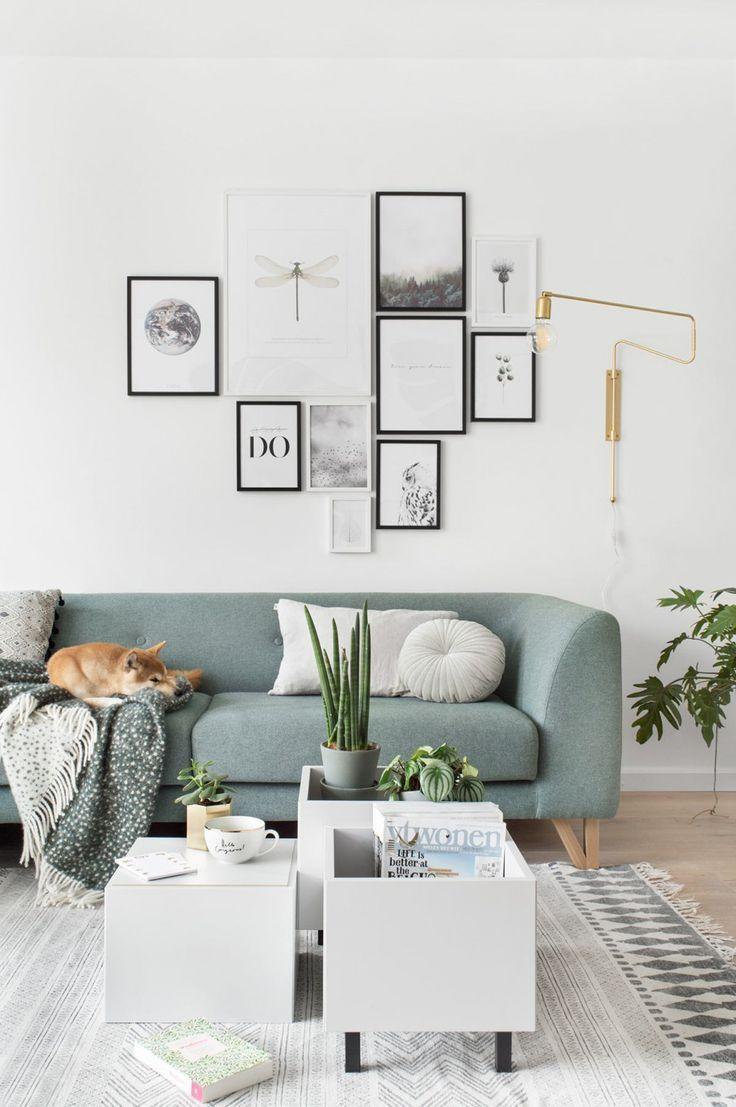 Multifunktionaler Couchtisch Ikea Hack Wohnzimmer Gestalten Einrichtungsideen Wohnen