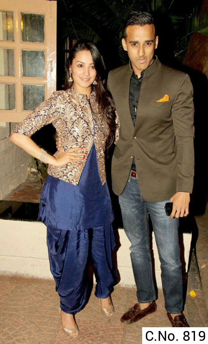 Patiala Salwar suit With jekat