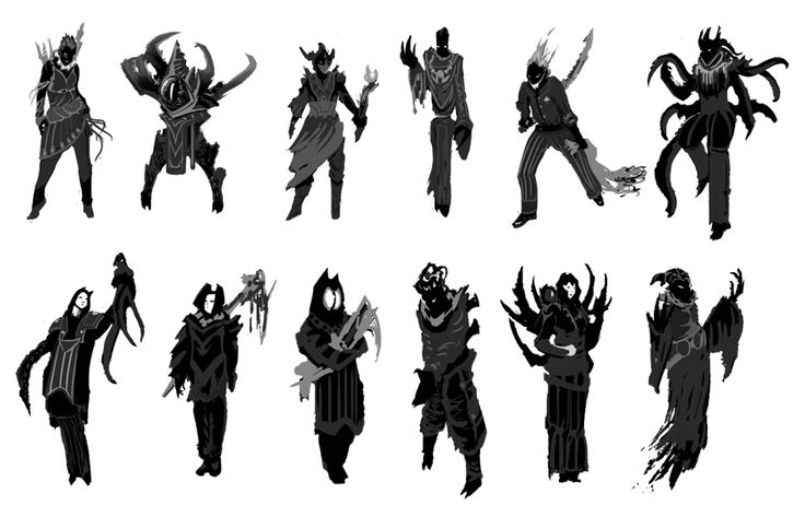 Character Design Silhouette Tutorial : C d a fe ddb bb g character