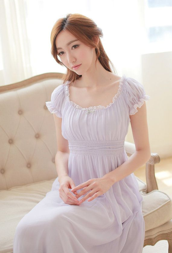 PRINSTY cute nightgown with modal lining / by PrinstyCollection