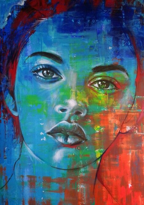Heather 1.2x1.8m; acrylic on board, ready to hang...R11900