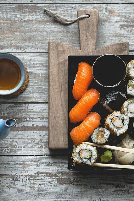 Sushi and Tea   Flickr: Intercambio de fotos