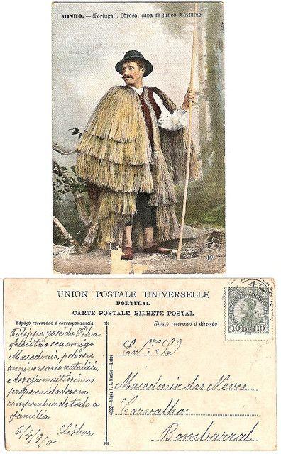 Vintage postcard, 1910