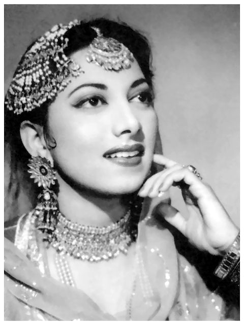 Suraiya Jamaal Sheikh (15 June 1929 - 31 January 2004).Suraiya was one of the greatest singing stars n actor of the forties and fifties.