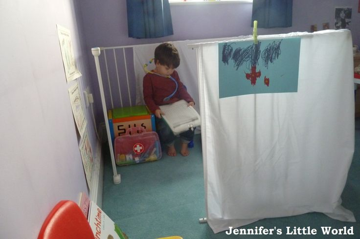 Jennifer's Little World blog - Parenting, craft and travel: Creating a role play area - Doctor's Surgery
