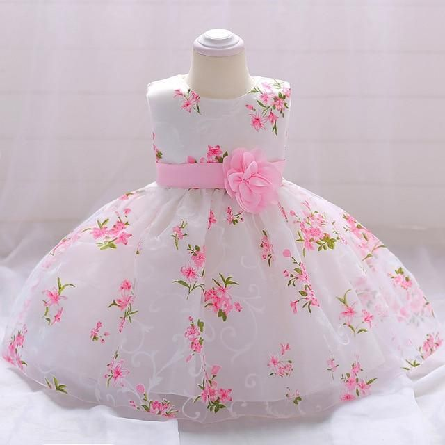 Baby infant girls clothes summer sleeveless dress kids party birthday dress Tutu