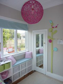 Small girl's bedroom - contemporary - kids - auckland