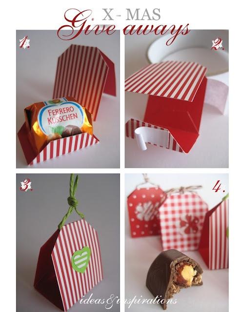 sweeties box DIY - cute for a mini christmas tree
