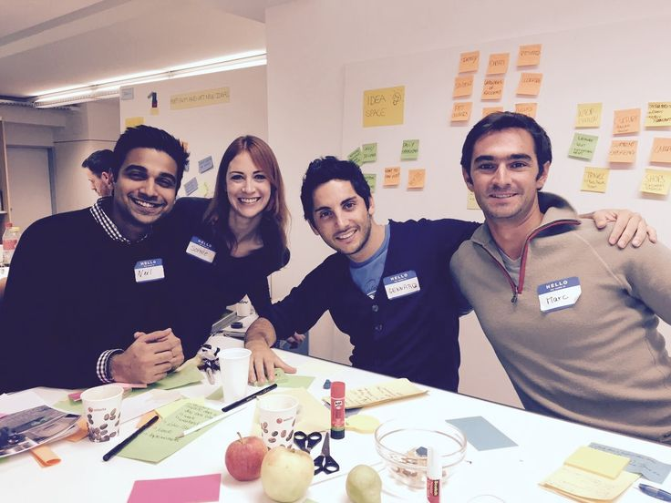 Full-time MBA Class of 2016 during part of our Design Thinking core course in September 2015