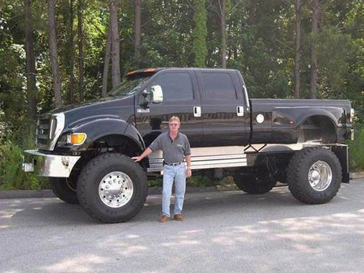 Ford F-650. I seriously must have one some day!