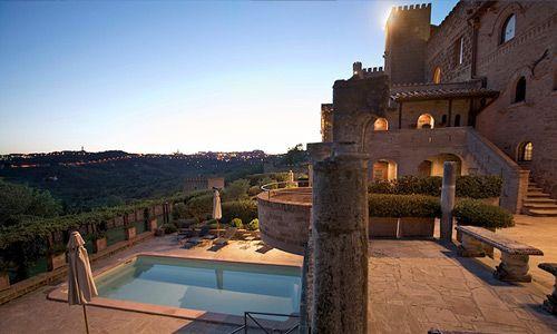 Castello Monterone, Perugia.