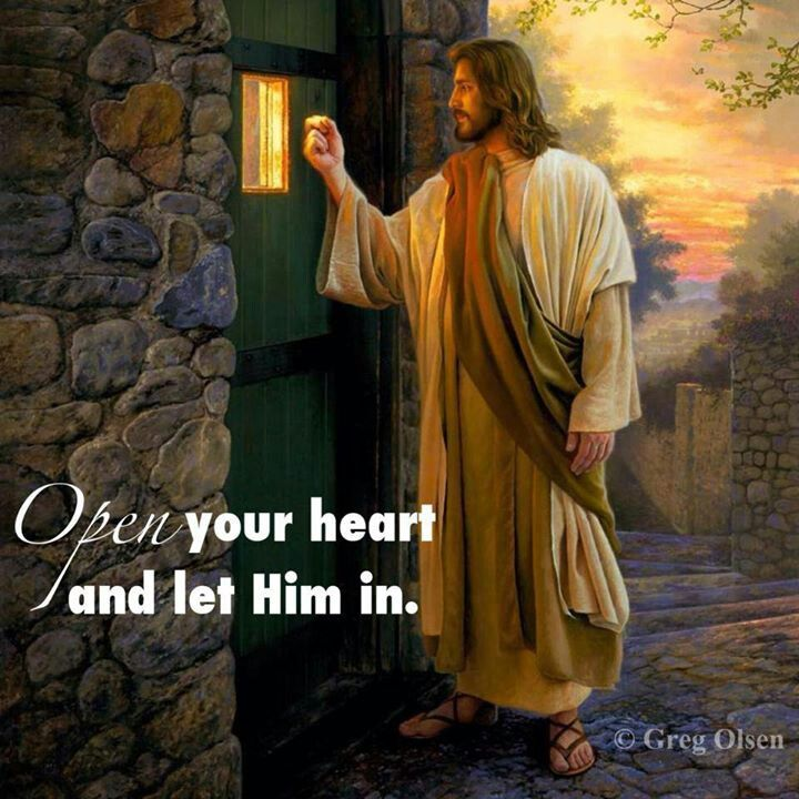 I Know I Will I'll Let Him Come In Anytime He Wants I'll Be Happy To Let Him In!!!!!!!!!!!!!!!!!!!❤️