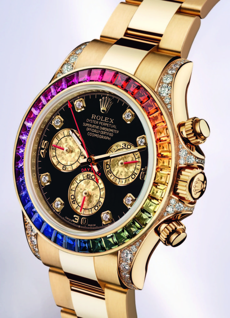 goes with every outfit!Cosmograph Daytona, Luxury Watches, Fashion Design, Rainbows, Fashion Accessories, Jewelry, White Gold, Rolex Cosmograph, Men Watches